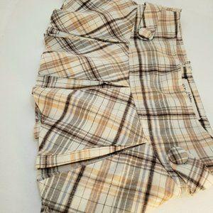 2/$40 Plaid Pleated Mini skirt Urban Heritage (M)